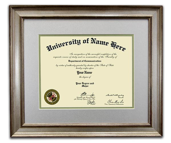 the kudos frame the traditional style diploma framing from framestore direct takes inspiration from - Diploma Frame Size