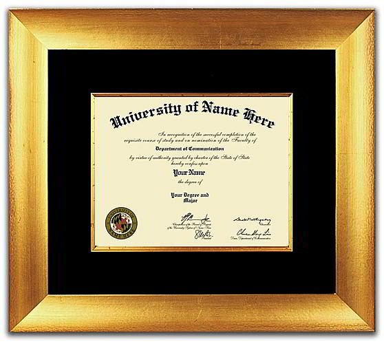 The Masterpiece Diplomas Frames  - Traditional style diplomas frames take design cues from the 18th and 19th centuries. Our diplomas frames are unique because they incorporate rich woods and fabrics with ornate details and designs. Perfect for Doctors and Lawyers offices!