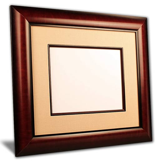 The Acclaim Diploma Picture Frames  - Traditional style diploma picture frames take design cues from the 18th and 19th centuries. They incorporate rich woods and fabrics with ornate details and designs. Perfect for Doctors and Lawyers offices!