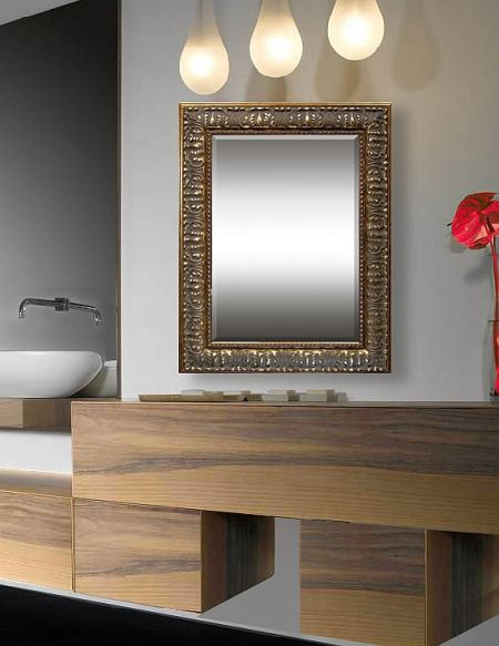 Antiqua - Traditional-style custom mirrors for living rooms from FrameStoreDirect takes inspiration from the 18th and 19th centuries. The rich woods and ornate designs used in our living room mirrors make the ideal accessories for living rooms, dens, libraries and bathrooms.