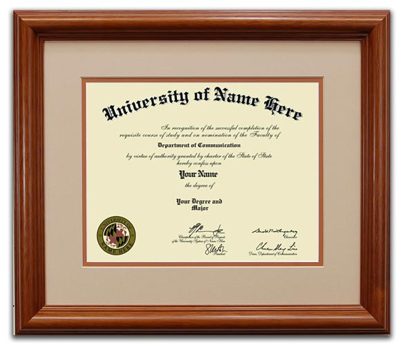 Buy Diploma Frames Online | The Feather in a Cap