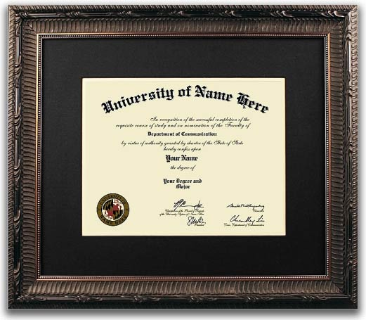 The Honor Graduation Diploma Frames  - Traditional style graduation diploma frames take design cues from the 18th and 19th centuries. They incorporate rich woods and fabrics with ornate details and designs. These graduation diploma frames are perfect for Doctors and Lawyers offices!