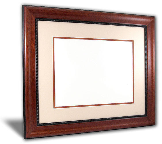 The Paramount Diploma Picture Frames  - Traditional style diploma picture frames take design cues from the 18th and 19th centuries. They incorporate rich woods and fabrics with ornate details and designs. Perfect for Doctors and Lawyers offices!